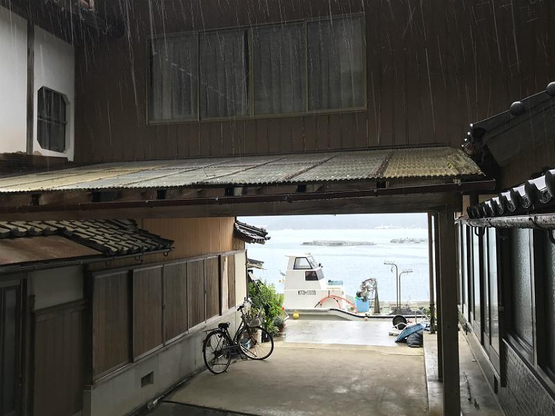 Fuldt renoveret Ine Funaya båshus med udsigt til ny båd