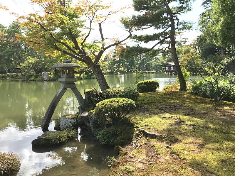 Kenrokuen i Kanazawa
