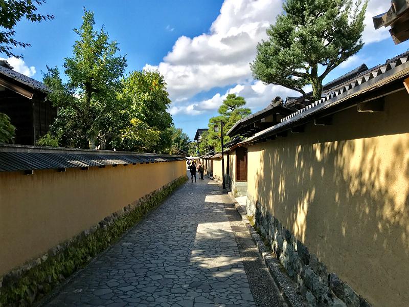 Gammelt samuraikvarter